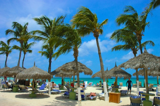 Palm Beach, Aruba
