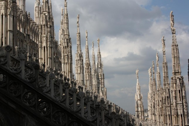 Milan Cathedral (Duomo di Milano), Milan from Ulf Liljankoski (CC) BY-ND http://www.flickr.com/photos/whyld/6106659618/